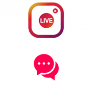 Instagram Live Video Custom Comments (0.19$ for 10 Comments)