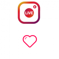 Instagram Likes on Live Video (0.04$ for 100 Likes)