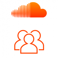 SoundCloud Followers (0.4$ = 100 Followers)