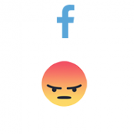 Facebook React ANGRY (0.13$ for 100)