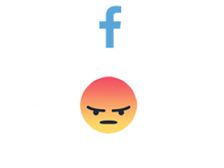 Facebook React ANGRY (from 100) (0.05$ for 100)