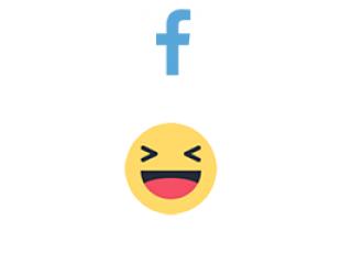 Facebook React HAHA (0.35$ for 100)