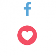 Facebook React LOVE (0.13$ for 100)