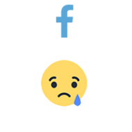 Facebook React SAD (0.13$ for 100)