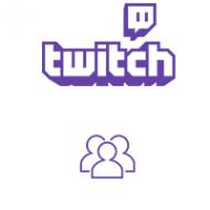 Seguidores de Twitch (0.5€ por 100 Seguidores)