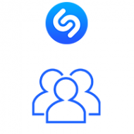 Shazam Followers (1.5$ for 100 Followers)
