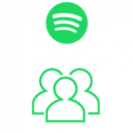 Spotify Followers (0.9$ for 100 Followers)