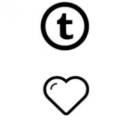 Tumblr Likes (2,5€ für 1000 Likes)