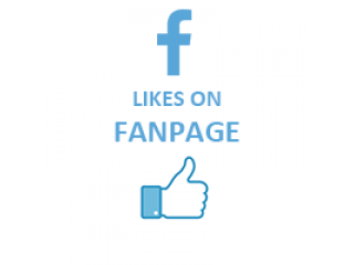 Facebook Likes on FanPage Fast (0.1$ for 100 Likes)