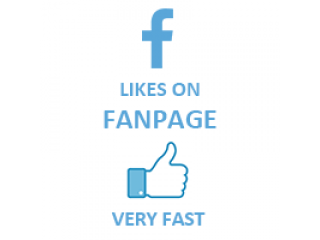 Facebook Likes on FanPage Fast (0.2$ for 100 Likes)