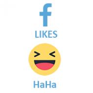 Facebook React HAHA (0.1$ for 100)