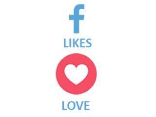 Facebook React LOVE (0.15$ for 100)