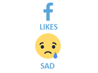 Facebook React SAD (0.15$ for 100)