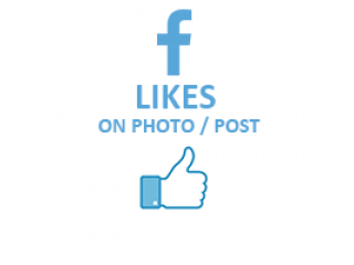 Facebook Likes on !Photo / Post (0.03$ for 100 Likes)