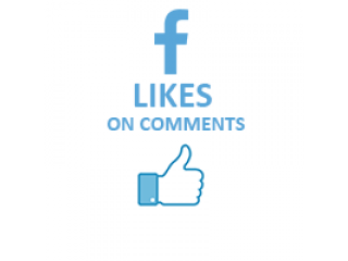 Facebook Likes on Comments (0.3$ for 100 Likes)