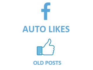 FaceBook Auto Likes on old posts for FanPage