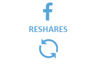 Facebook Reshares (0.3$ for 100 Reshares)