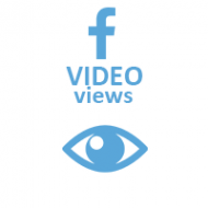 Facebook Video Views (0.3$ for 1000 Views)
