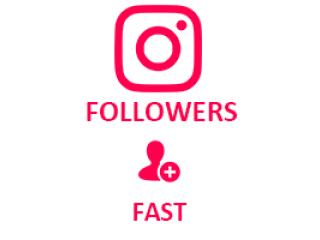 Instagram Followers (FAST) (0.3$ for 100 followers)