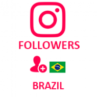 Instagram Followers Brazil (0.8$ for 100 followers)