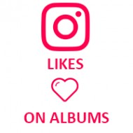 Instagram Likes on Album (0.03$ for 100 Likes)