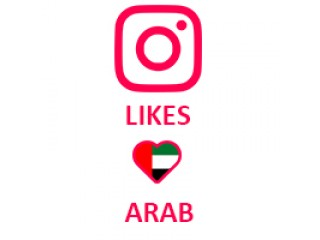 Instagram Likes Target Arab (0.04$ for 100 Likes)