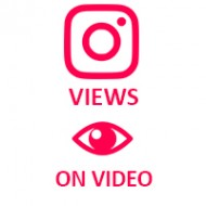 Instagram Video Views (0.02$ for 100 Views)