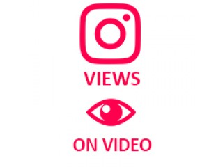 Instagram Video Views (0.02$ for 100 Views)