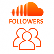 SoundCloud Followers (0.6$ = 100 Followers)
