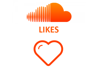 SoundCloud Likes (0.4$ for 100 Likes)