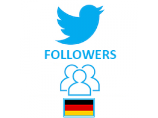 Twitter Followers Target Germany (0.4$ for 100 Followers)