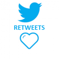 Twitter Retweets (0.08$ for 100 Retweets)