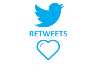Twitter Retweets HQ (0.11$ for 100 Retweets)