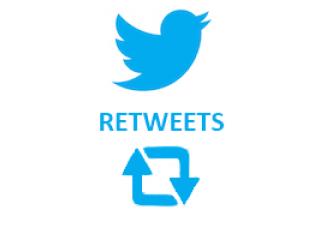 Twitter Retweets (0.15$ for 100 Retweets)