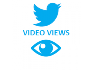 Twitter Video Views (0.3$ for 100 Views)