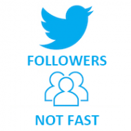 Twitter Followers MIX (0.08$ for 100 Followers)