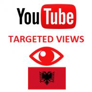 Youtube Views Albania (1.5$ for 1000 Views)