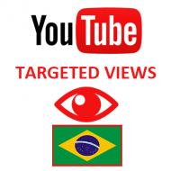 Youtube Views Brazil (1.5$ for 1000 Views)