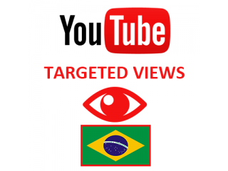 Youtube Views Brazil (1.5$ for 1000 Views)