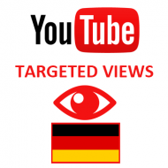 Youtube Views Germany (3$ for 1000 Views)