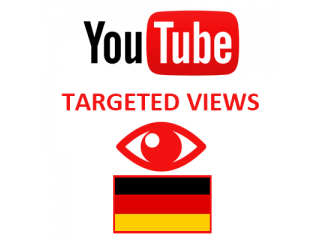 Youtube Views Germany (1$ for 1000 Views)