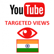 Youtube Views India (1.5$ for 1000 Views)