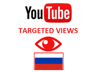 Youtube Views Russia (1.5$ for 1000 Views)