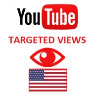 Youtube Views USA (1.5$ for 1000 Views)