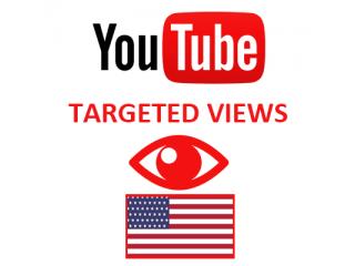 Youtube Views USA (1$ for 1000 Views)