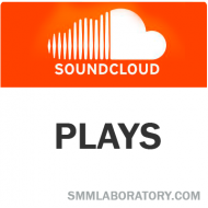 SoundCloud Plays (0.6$ = 1000 Plays)